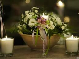 Насыпные свечи, пальмовый воск.