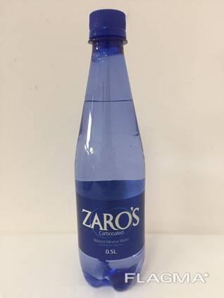 Натуральная минеральная вода ZARO'S (Греция)