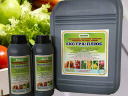 Натуральний активатор родючості та росту рослин extra plus