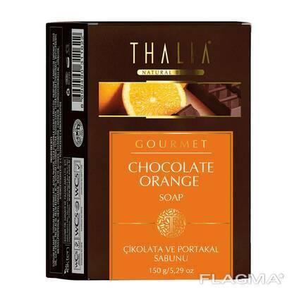 Натуральное мыло Thalia Шоколад и Апельсин, 150 г