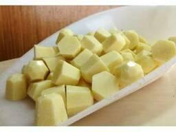 Натуральный белый шоколад в виде диамантов