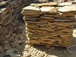 Камень песчаник колотый