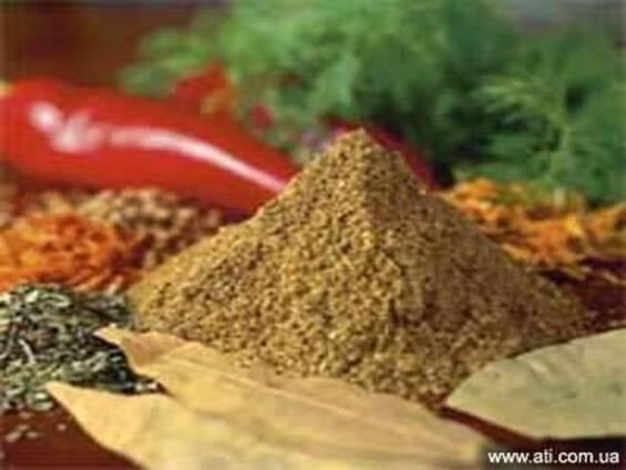 Натуральные пряности, комплексные добавки для пищевой пром.