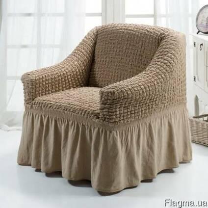 Натяжной чехол на кресло