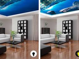 Натяжные потолки DoubleVision/Натяжні стелі