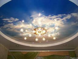 Натяжные потолки различных форм и размеров потолков г. Обухов