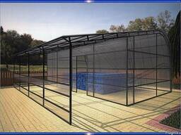 Навес - павильон для бассейна из поликарбонатного пластика