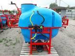 Навесной опрыскиватель 600 л для внесения пестицидов - фото 5