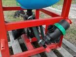 Навесной опрыскиватель 200 л для внесения пестицидов штанга - фото 4