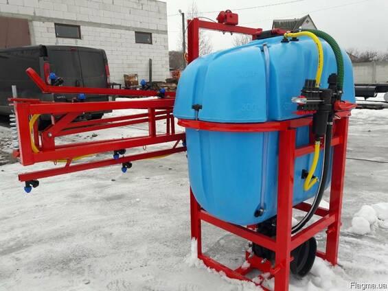 Навесной опрыскиватель 400 л для внесения пестицидов штанга