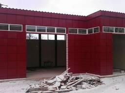 Навесной Вентилируемый фасад с утеплением