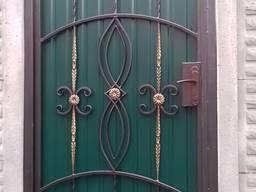 Калитки кованые, ворота, заборы, навесы