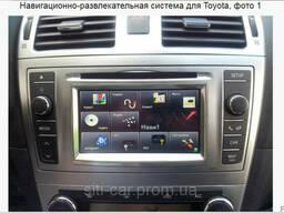Навигационно-развлекательная система для Toyota