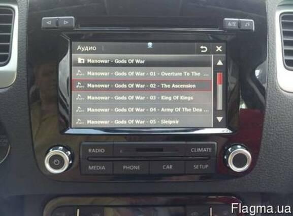 Навигация/мультимедия для VW Touareg 2010 RCD550