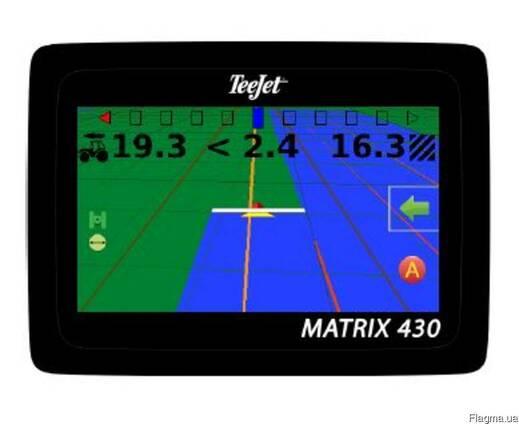 Навигатор для трактора - GPS Teejet 430