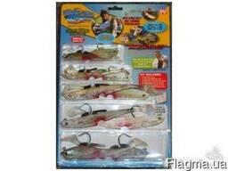 Наживки в наборе для рыбалки Майти Байт Mighty Bite