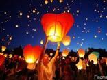 Небесні ліхтарики, Повітряні ліхтарики, Небесные фонарики - фото 7
