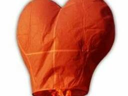 Небесные фонарики - гигантские сердца