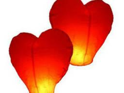 Китайские небесные фонарики на день Валентина, купить оптом.