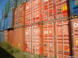 Недорого контейнеры морские с доставкой 20 футов, 40 футов - фото 5