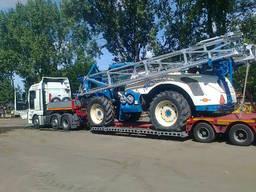 Негабаритные перевозки. Перевозка негабаритных грузов