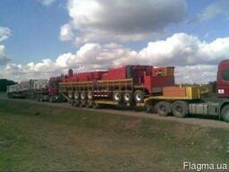 Негабаритные перевозки услуги низкорамной платформы площадки