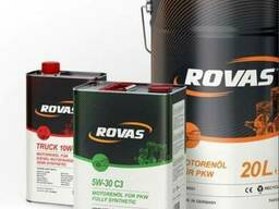 Немецкое моторное масло Rovas10W-40 синтетика