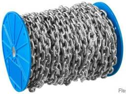 Нержавеющая цепь короткозвенная, 2 мм