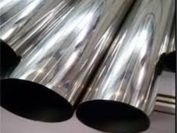 Нержавеющая круглая полированная труба AISI201 12Х15Г9НД