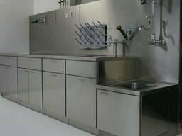 Мебель для лаборатории из нержавеющей стали