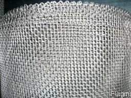 Сетка тканная нержавеющая 03Х18Н9 ячейка 0,04*0,03 мм