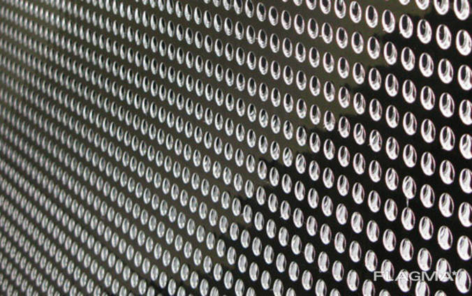 Алюминиевый лист перфорированный АМГ3 (перфолист)