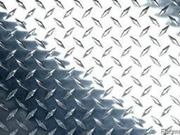 Купить лист рифлёный нержавеющий AISI 304, 430 ГОСТ