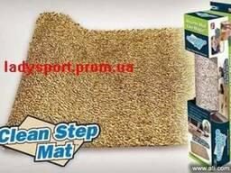 Нескользящий впитывающий коврик Clean Step Mat