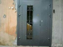 Входные бронированные двери. Loft перегородки.