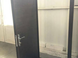 Нестандартные входные двери метал/ДСП 190 см. на улицу - фото 2