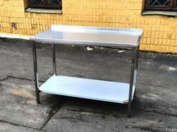 Продам разделочный (производственный) стол из пищевой стали.
