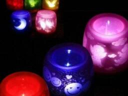 Нічник Свічка Задуй мене Electronic candle Купити Київ