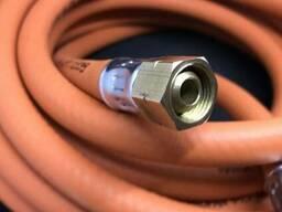 Німеччина Шланг морозостійкий для газовой пушки і пальників 3/8LH - 3/8LH 8м 0454900