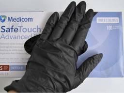 Нітрилові оглядові рукавички розмір L M XL S Mercato IGAR