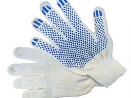 Нитриловые, химстойкие, трикотажные защитные перчатки