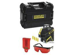 """Нівелір лазерний лінійний червоний Stanley """"FatMax"""" 360° 15 м точність- 3/6 мм на 10 м"""