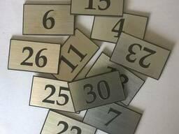 Номерки на почтовые ящики из металла за 1 час
