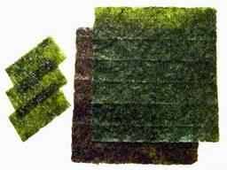 Нори. Водоросли морские сушеные Нори Голд 50 и 100 листов