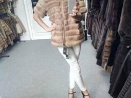 Норковая автоледи куртка