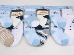 Носки малютка детские махровые для мальчика