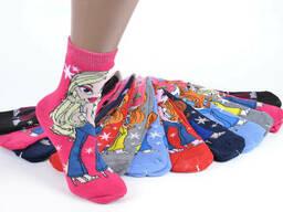 Носки подростковые махровые для девочки (33-36 и 36-39)