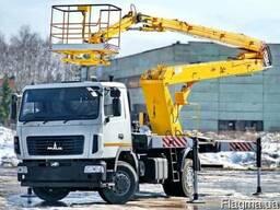 Новая автовышка АГП-20-8