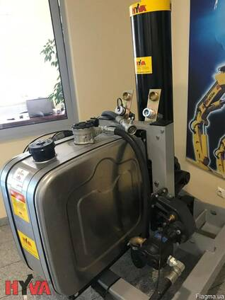 Новая Гидравлика HYVA для тягача