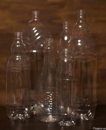 Новая пластиковая бутылка в ассортименте (ПЭТ-тара)